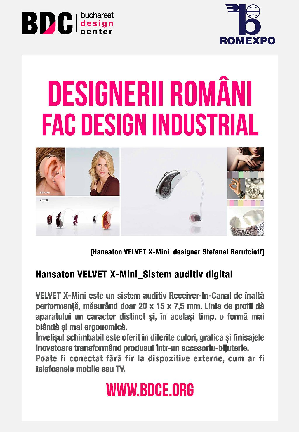 Design RO_sistem auditiv digital
