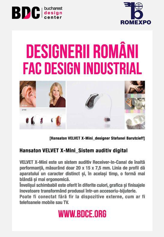 Design RO_sistem auditiv digital