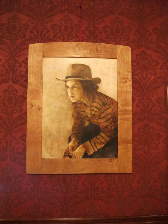 Pan, artist Barbara Hangan