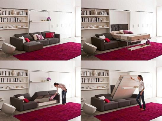 Model living Swing, design Pierluigi Colombo, de la R&D Clei