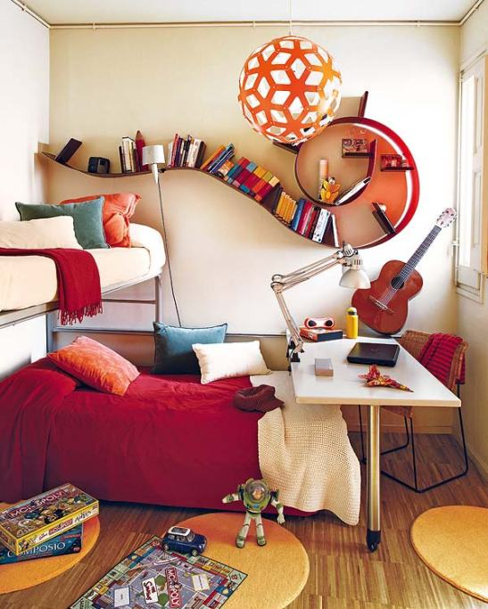 adelaparvu.com despre apartament de familie cu piese de design Foto Micasa (11)