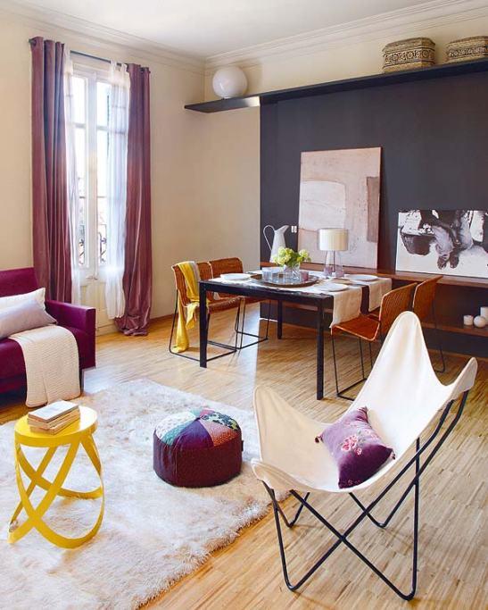 adelaparvu.com despre apartament de familie cu piese de design Foto Micasa (4)