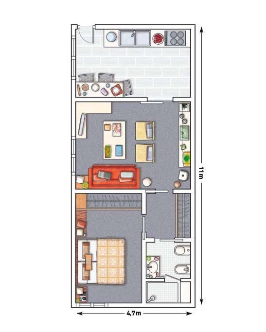 adelaparvu.com despre apartament la subsol Designer Inigo Echave Foto Micasa (8)