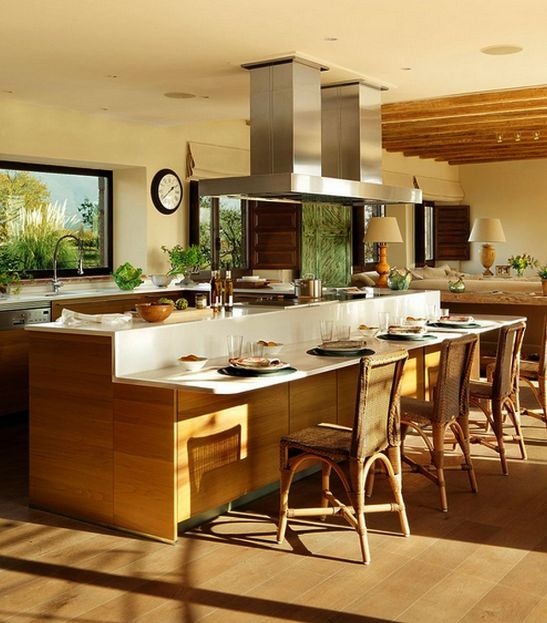 adelaparvu.com despre casa mare pentru familie mare Designer Fanny Iniesta  Foto ElMueble (9)