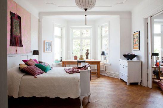 adelaparvu.com despre interior vintage cu decoratiuni colorate (10)