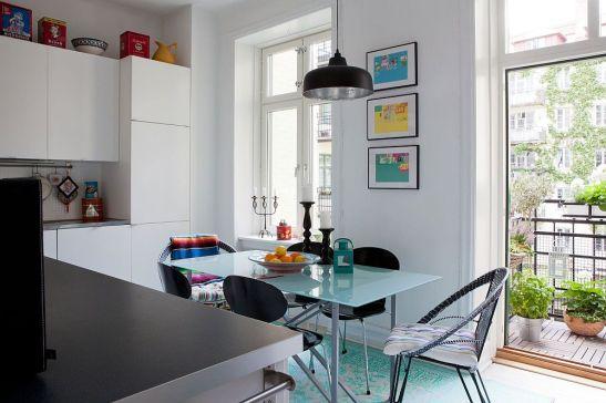 adelaparvu.com despre interior vintage cu decoratiuni colorate (4)