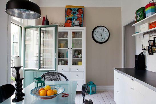 adelaparvu.com despre interior vintage cu decoratiuni colorate (6)