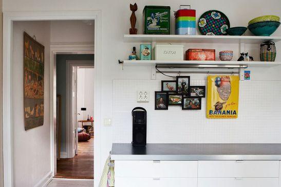 adelaparvu.com despre interior vintage cu decoratiuni colorate (7)