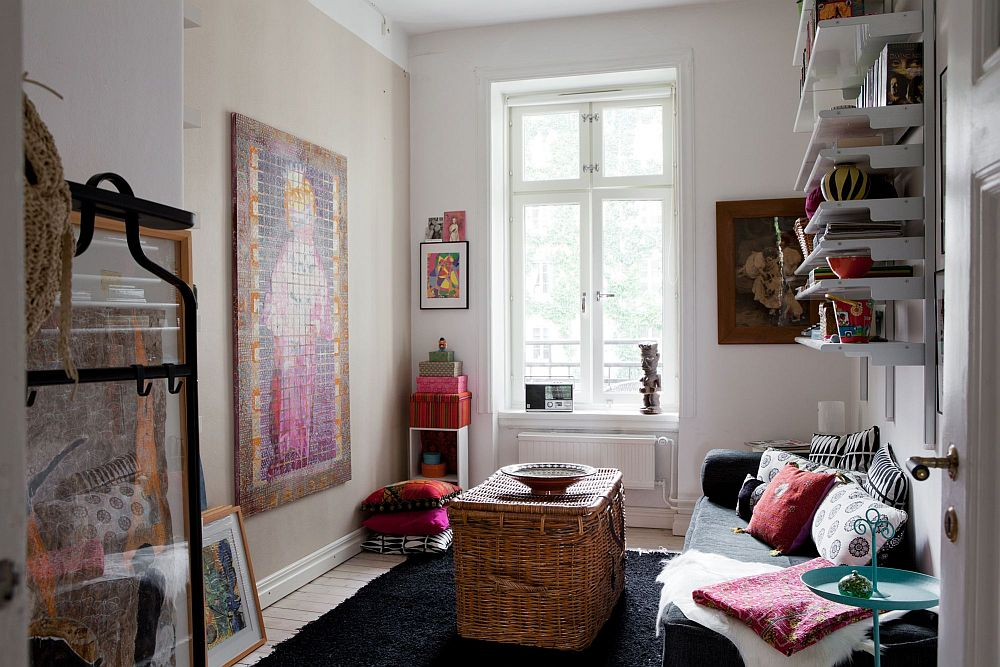 adelaparvu.com despre interior vintage cu decoratiuni colorate (8)