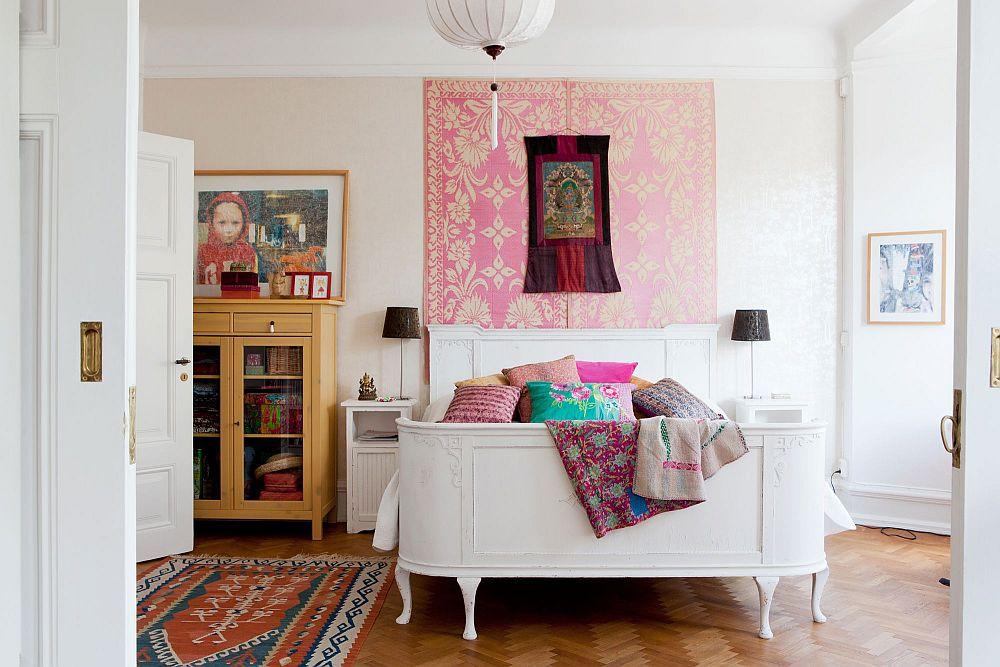 adelaparvu.com despre interior vintage cu decoratiuni colorate (9)