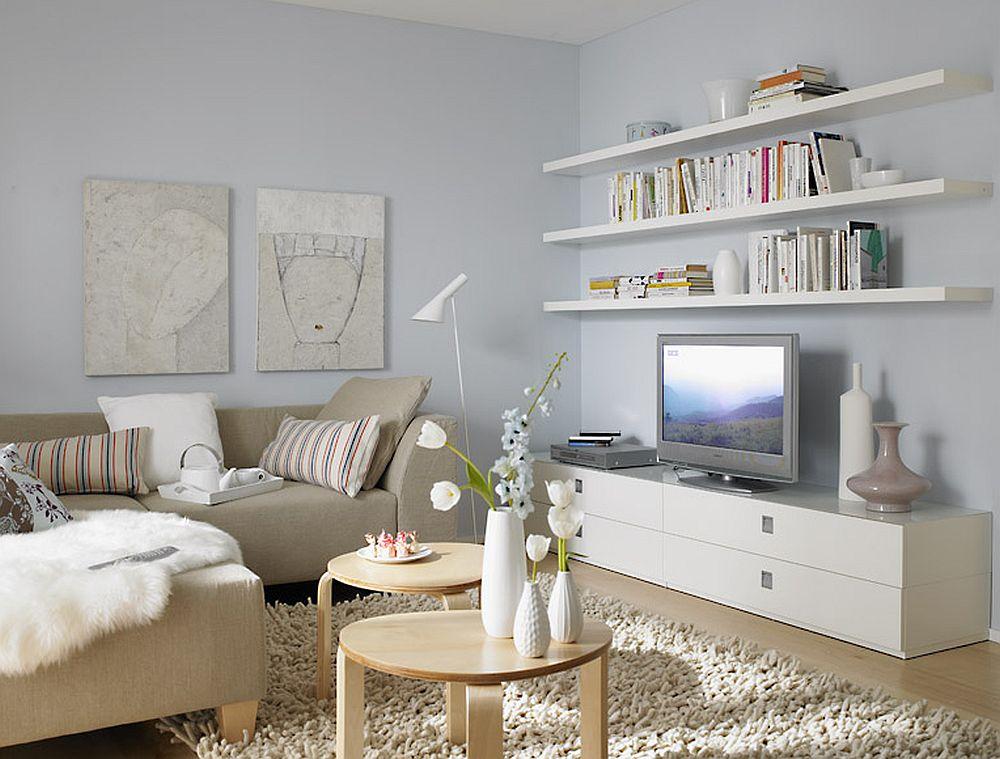 25 de idei pentru locul tv in camera de zi adela parvu for Stoffe schoner wohnen