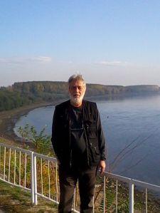 Adrian Parvu pe promenada din Vidin