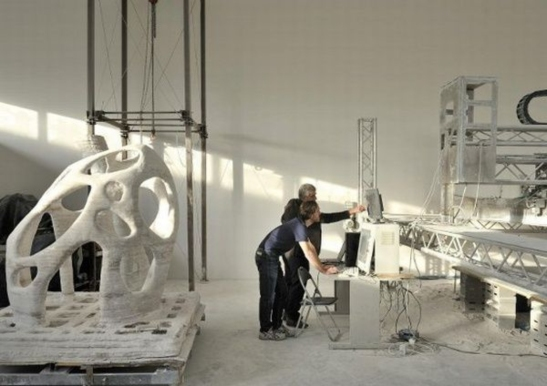 Atelierul lui Enrico Dini, sursa foto architizer.com