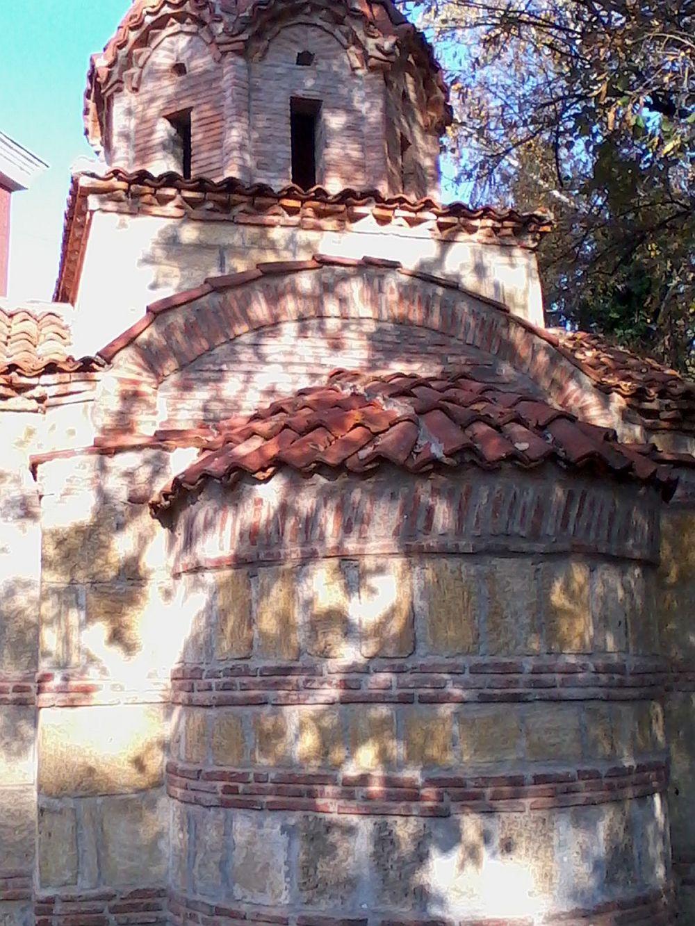 Detaliu de la o bisericuta ortodoxa din Vidin