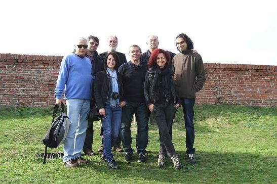 Grupul jurnalistilor romani alaturi de gazdele  din Bulgaria